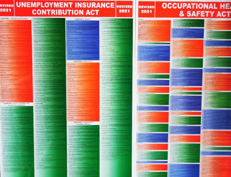 occupational health and safety act wall chart pdf